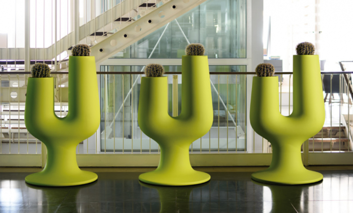 Obiecte decorative - ghiveci polietilena CACTUS [1]