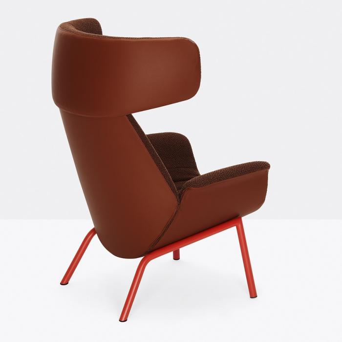 Fotoliu lounge tapitat ILA 2022 3