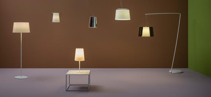 Lampa de podea cu abajur din policarbonat L001ST/BA [4]