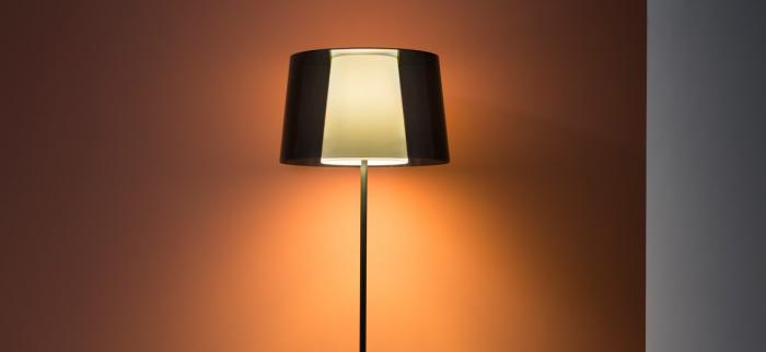 Lampa de podea cu abajur din policarbonat L001ST/BA [8]