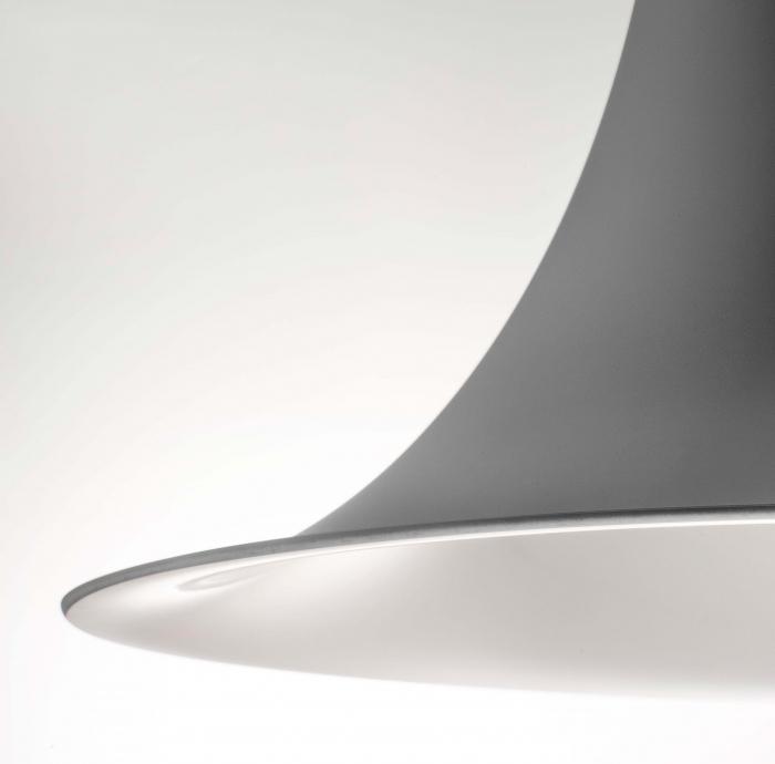 Lampa suspendata cu abajur din policarbonat L004SW/A 1