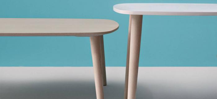 Mese extensibila picioare lemn frasin design scandinav MALMO TML 7