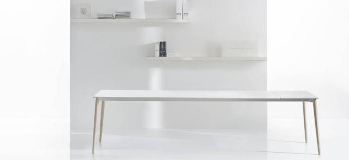 Mese extensibila picioare lemn frasin design scandinav MALMO TML 9