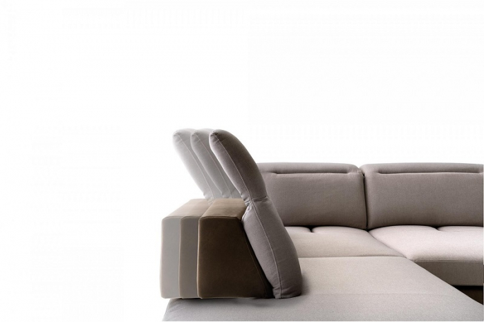 Canapele modulare cu tetiere NAVIGLIO 1