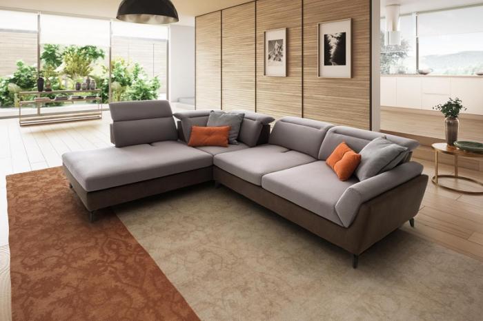 Canapele modulare cu tetiere NAVIGLIO 2