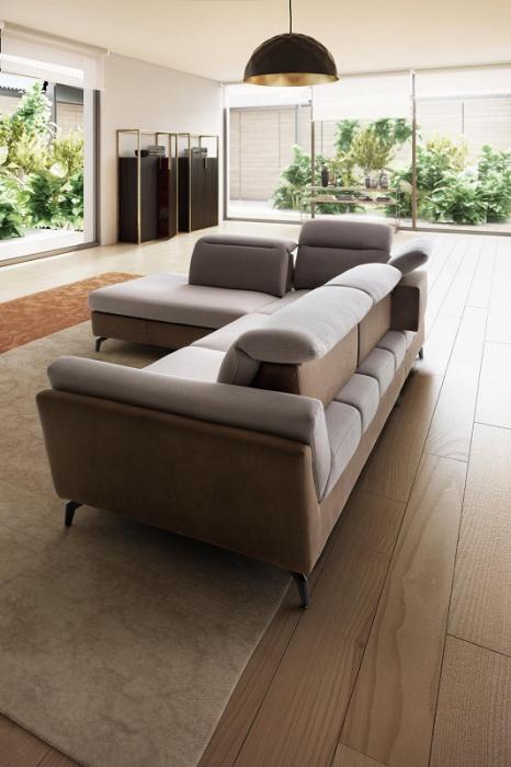 Canapele modulare cu tetiere NAVIGLIO 3