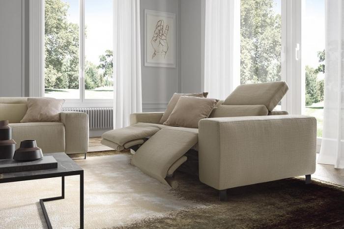 Canapele modulare cu tetiere mobile SEBASTIAN 3