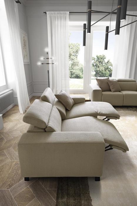 Canapele modulare cu tetiere mobile SEBASTIAN 6