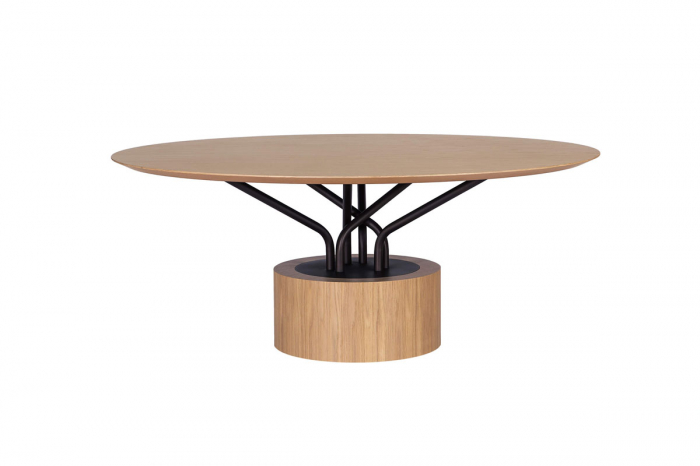 Mese lemn structura metalica WOOD-OO 001 3