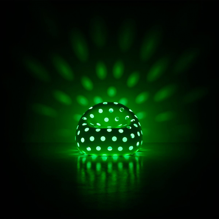 Fotoliu luminos din plastic AIRBALL LIGHT 1
