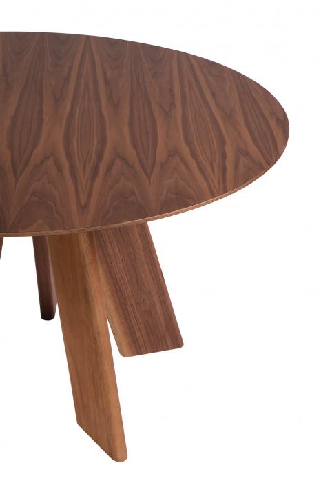 Mese lemn blat rotund ALHAMBRA 001 RA [1]