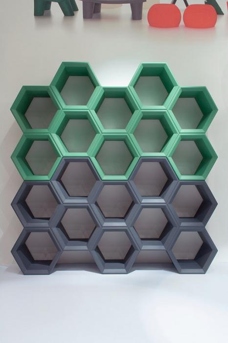 Biblioteci modulare polietilena HEXA [4]