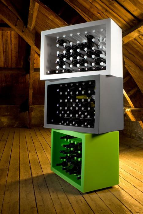Suport sticle de vin BACHUS 3