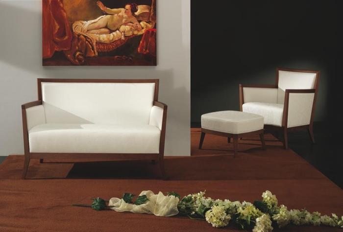 Canapea tapitata structura lemn fag Blios 2180 DI 1