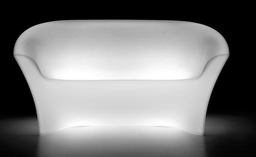 Canapele de exterior luminoase din plastic OHLA [2]