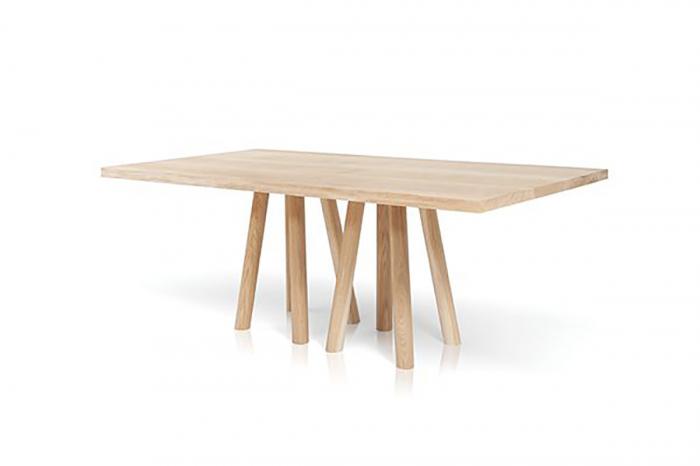 Mese din lemn baza cu 8 picioare MOS-I-KO 001 B [0]