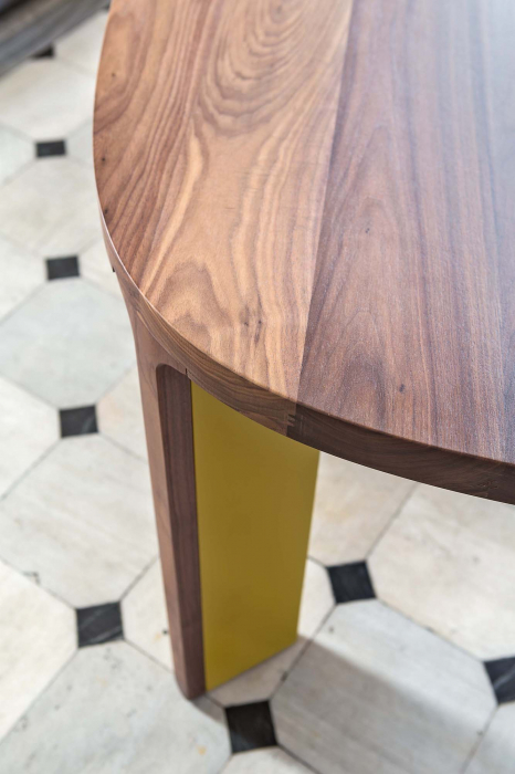 Mese din lemn blat oval ACRO-BAT 002 [3]