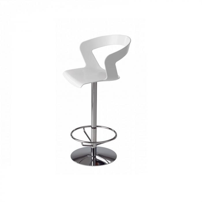 Scaune rotative inalte de bar picior metalic IBIS 303 0
