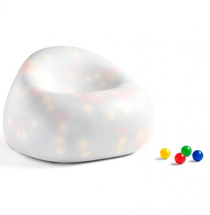 Canapele plastic GUMBALL NEUTRO 0