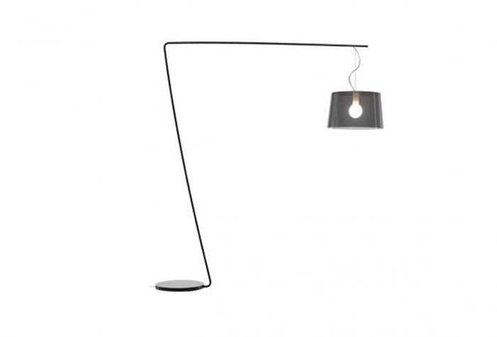 Lampa de podea cu picior si abajur din policarbonat L001T/B 0