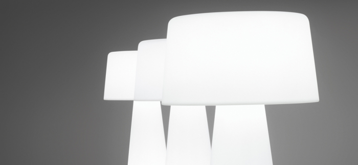 Lampa de podea din polietilena TIME OUT 1