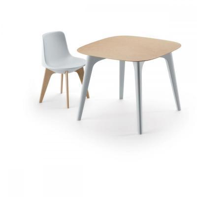 Masa cu blat HPL/lemn si patru picioare din plastic PLANET TABLE [0]