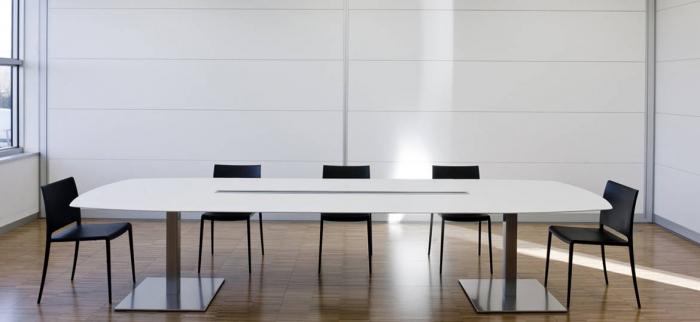 Mese conferinta office birou cu blat oval PLANO 4431 1