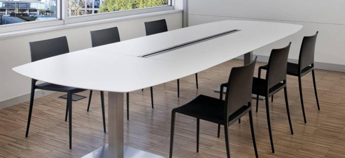Mese conferinta office birou cu blat oval PLANO 4431 0