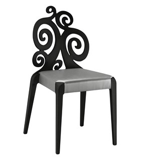 Scaun din fag cu sezut tapitat Sendy 152 R SE 1