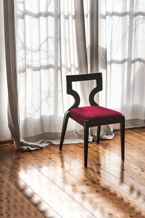 Scaun lemn fag cu sezut tapitat Sendy 152 1 SE 1