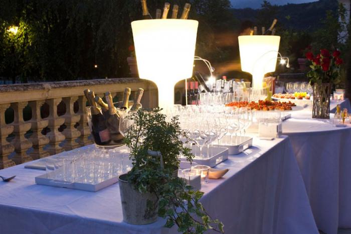 Frapiere decorative luminoase polietilena LIGHT DRINK LA DRL075 6