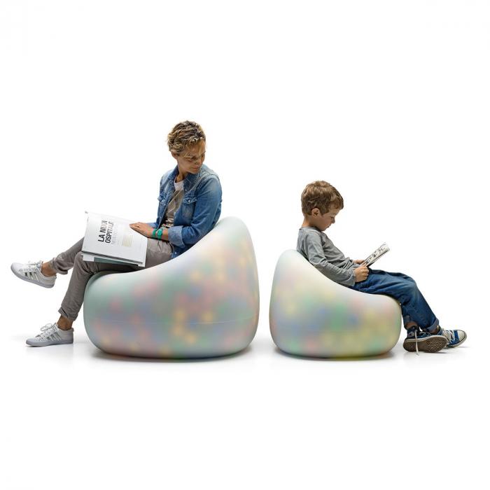 Canapele plastic GUMBALL NEUTRO 1
