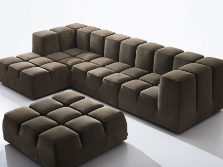 Canapele modulare tapitate TOBLO Antidiva1