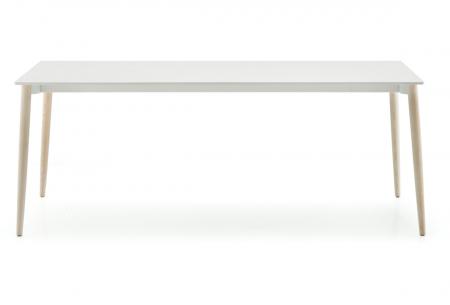 Mese fixe picioare lemn frasin design scandinav MALMO TMLF0