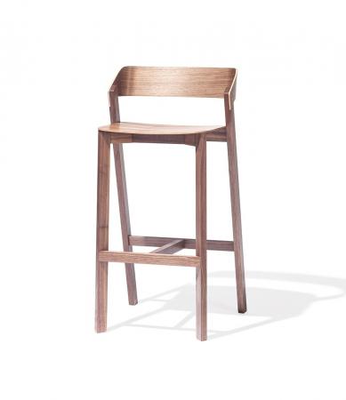 Scaune de bar din lemn MERANO [1]