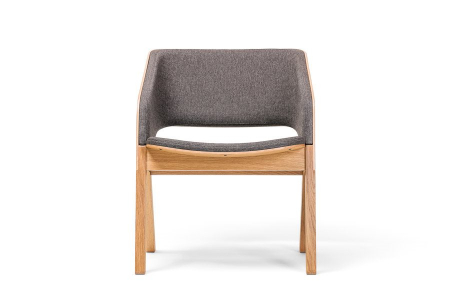 Fotolii lounge din lemn tapitate MERANO [1]