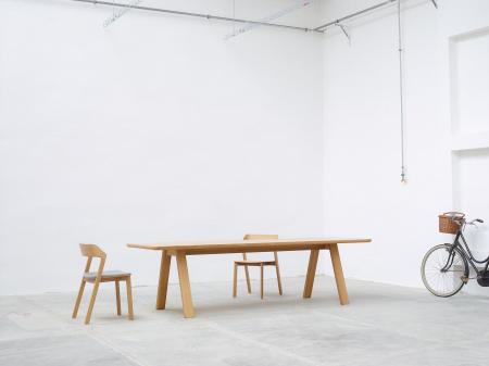 Scaune lemn sezut si spatar tapitate MERANO [9]