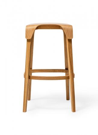 Scaune de bar lemn LEAF1