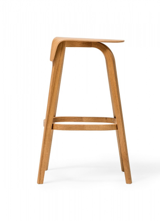 Scaune de bar lemn LEAF2