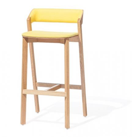 Scaune din lemn cu sezut si spatar tapitate MERANO [0]