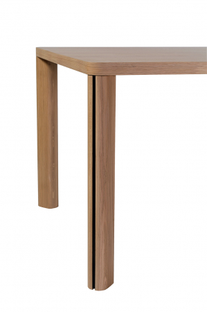 Mese din lemn masiv cu detaliu metalic KA-BERA 001 A [1]