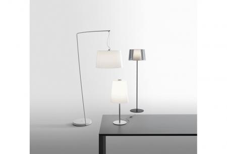 Lampa de podea cu abajur din policarbonat L001ST/BA [3]