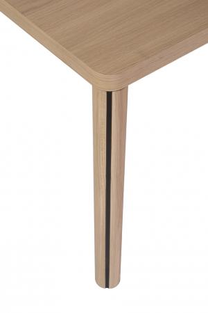 Mese din lemn masiv cu detaliu metalic KA-BERA 001 A [2]