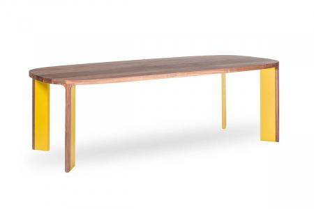 Mese din lemn blat oval ACRO-BAT 002 [0]