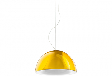 Lampa suspendata cu abajur din policarbonat L002S/BA4