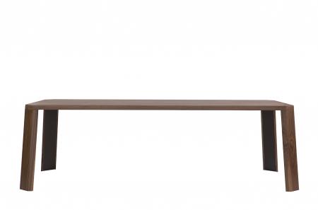 Mese din lemn detaliu metalic O-RIZON 0011