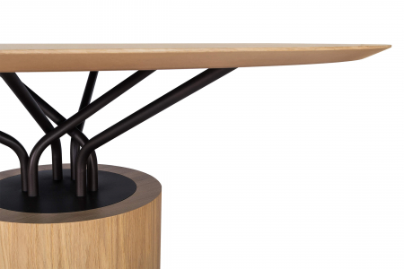 Mese lemn structura metalica WOOD-OO 0014