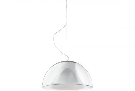 Lampa suspendata cu abajur din policarbonat L002S/BA6