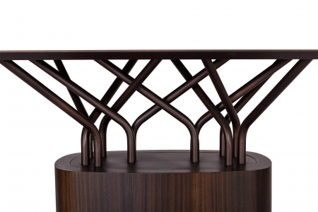 Mese lemn structura metalica WOOD-OO 0012