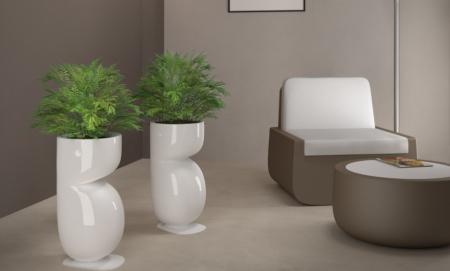 Obiecte decorative - ghiveci polietilena BEAVER2